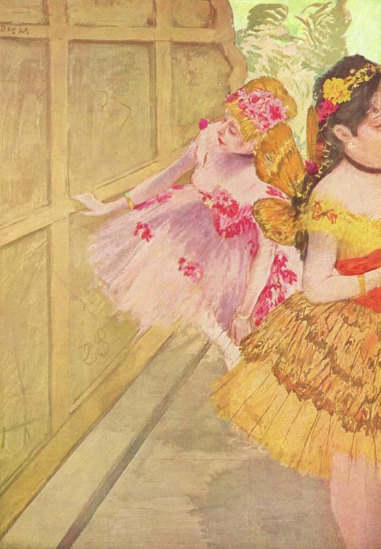Эдгар Дега. Танцовщицы за кулисами