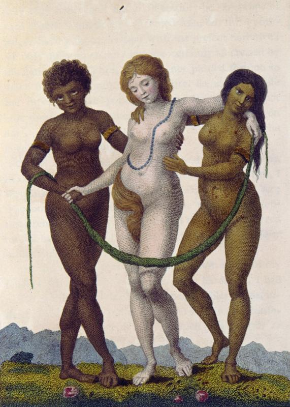 """Уильям Блейк. Европа, поддерживаемая Африкой и Америкой. """"Рассказ о пятилетней экспедиции против восставших негров Суринама"""""""