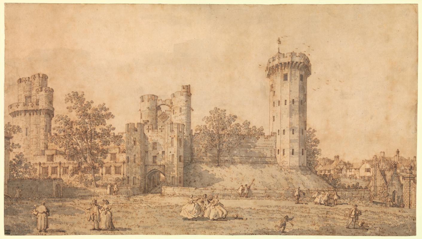 Джованни Антонио Каналь (Каналетто). Уорикский замок