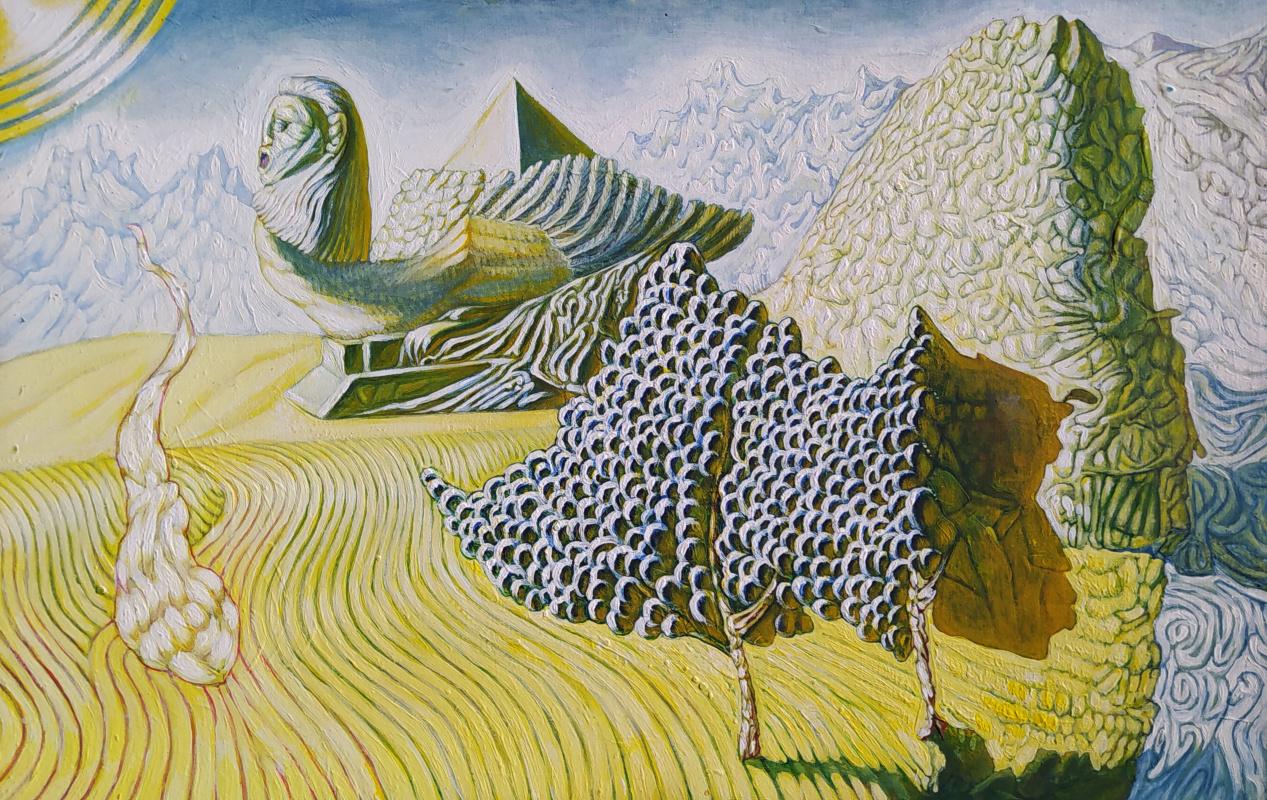 Artem Zavadsky. Call of the Sphinx