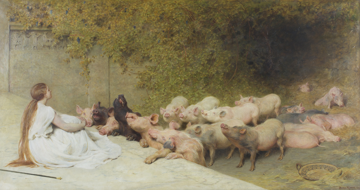 Брайтон Ривьер. Цирцея со свиньями