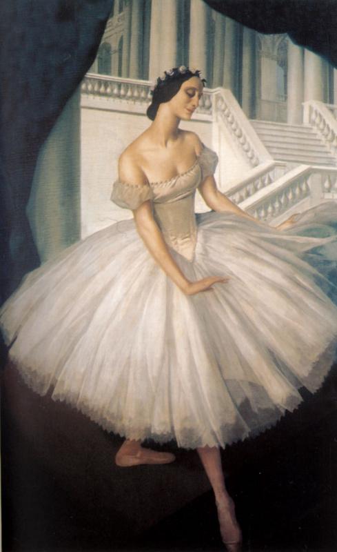 Alexander Yakovlev. Portraits of the ballerina Anna Pavlova