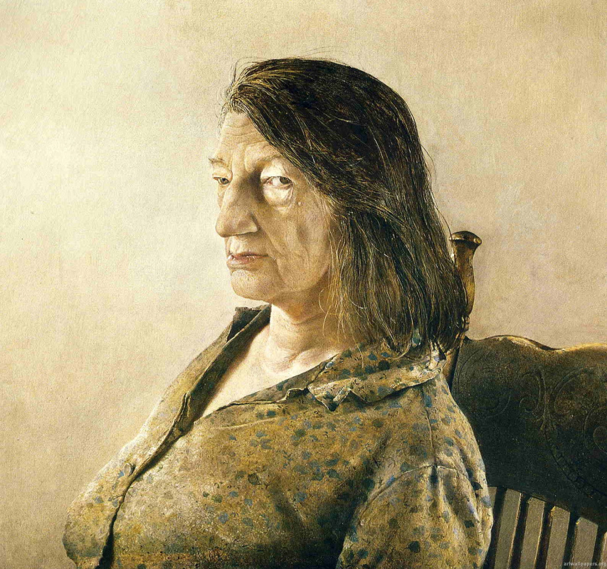 Andrew Wyeth. Anna-Christina