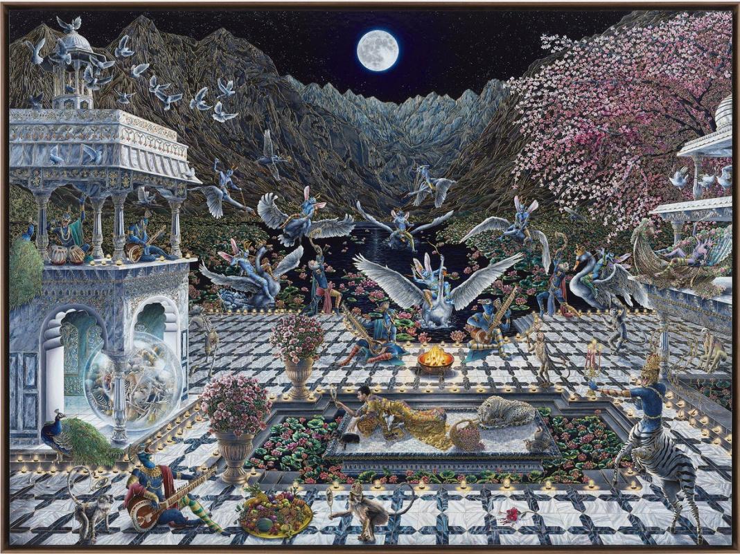 Rakib Shaw. Ode to the Valley Wonderment