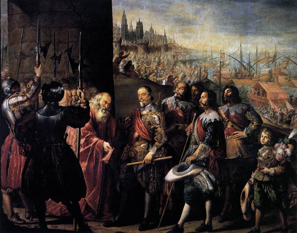 Антонио де Переда. Освобождение в Генуе