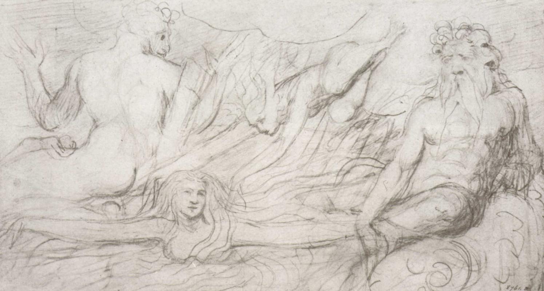 Уильям Блейк. Рисунок к Данте