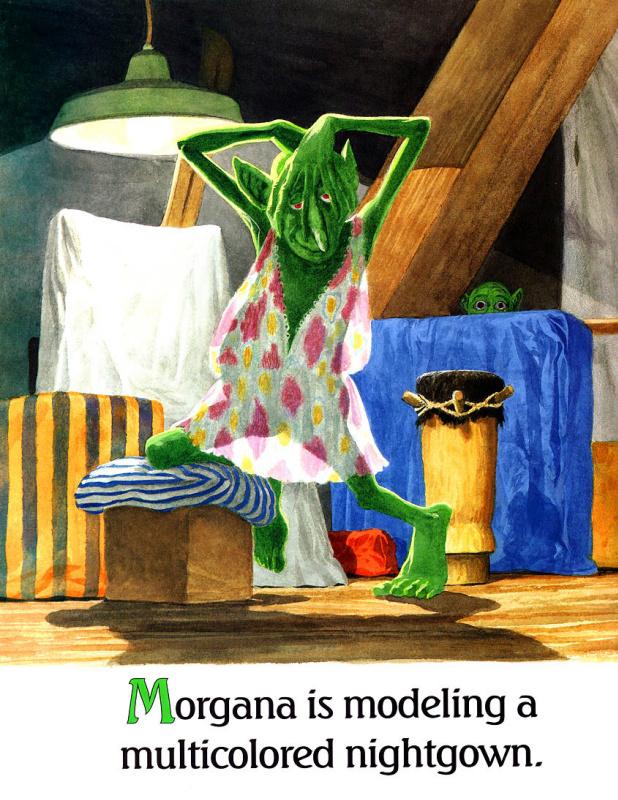 Джосеф Смит. Моргана