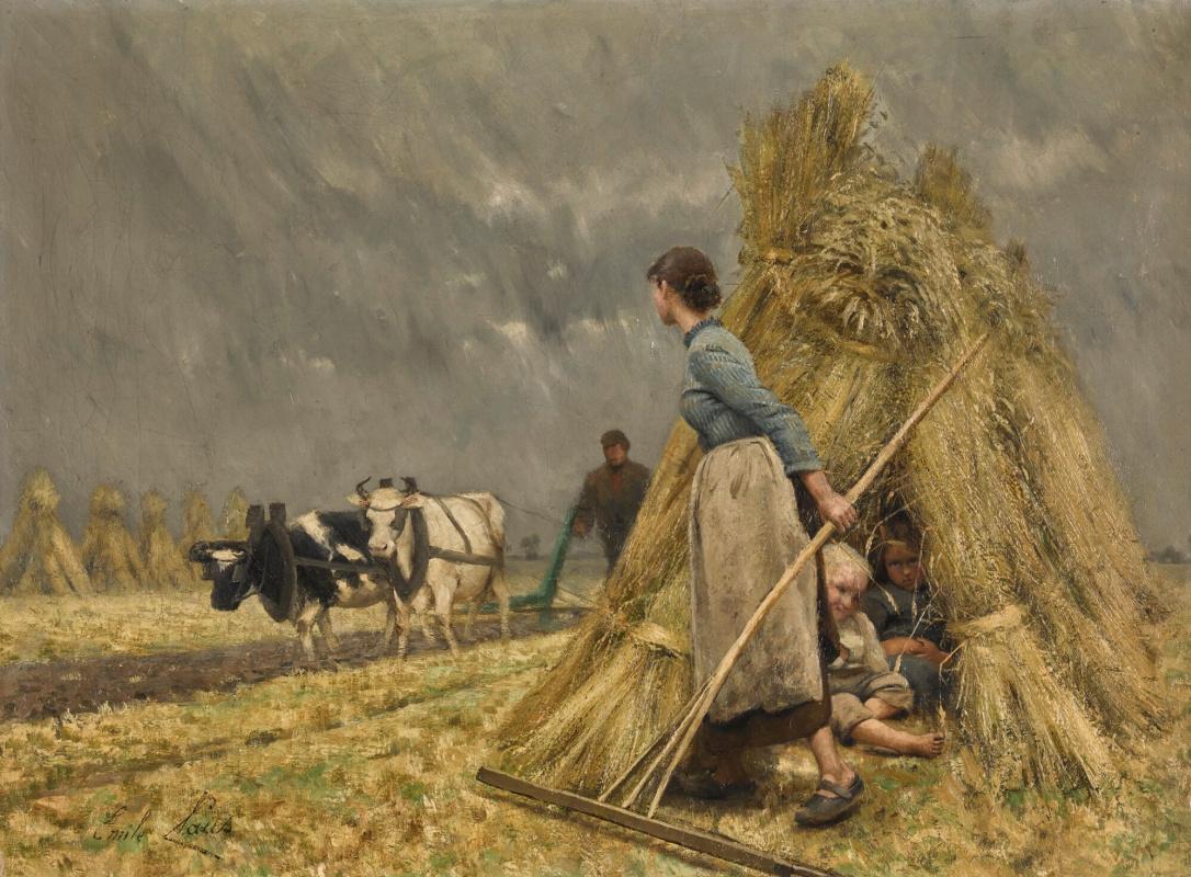 Emil Klaus. Haymaking