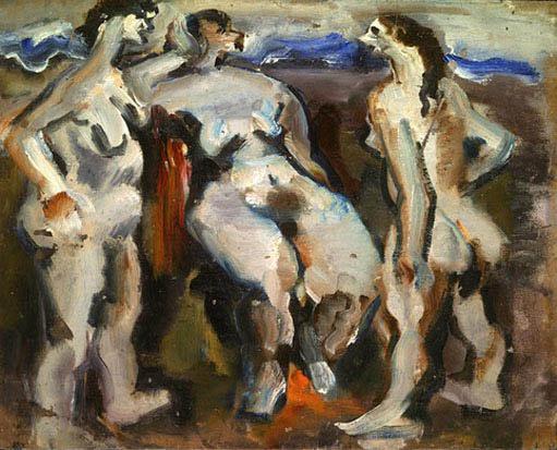 Rothko Mark. Untitled (Three Nudes)