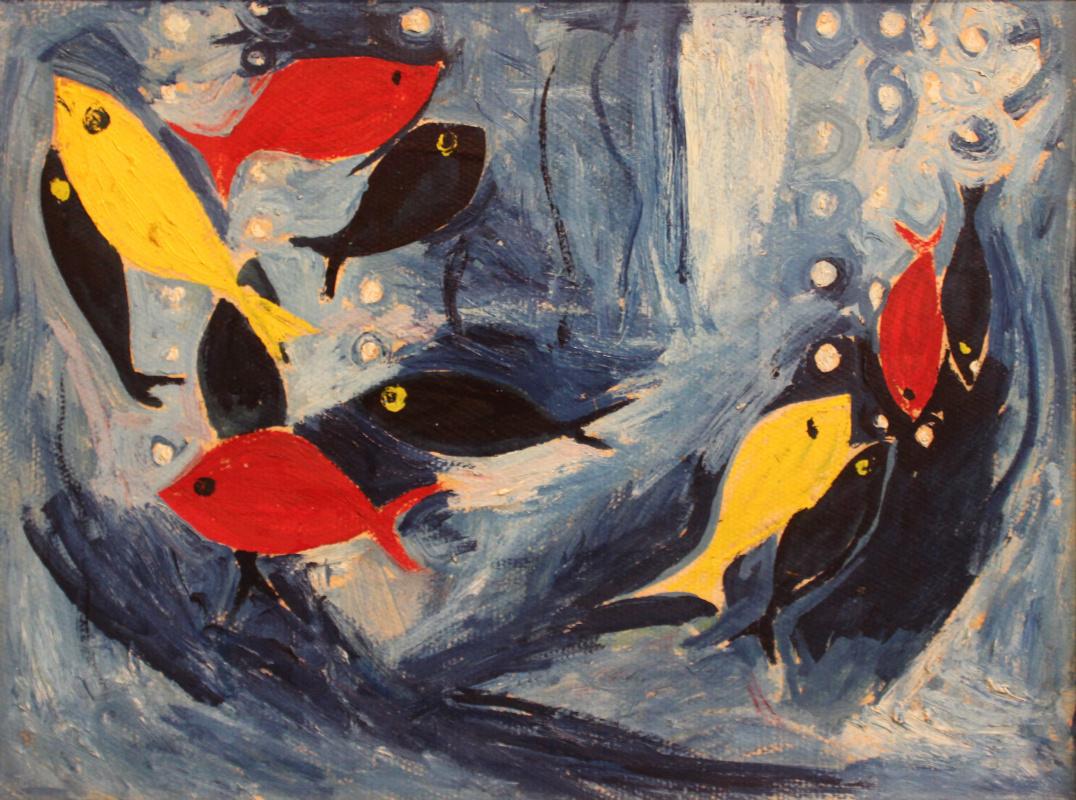 Victor Fedorovich Chudin. Fish
