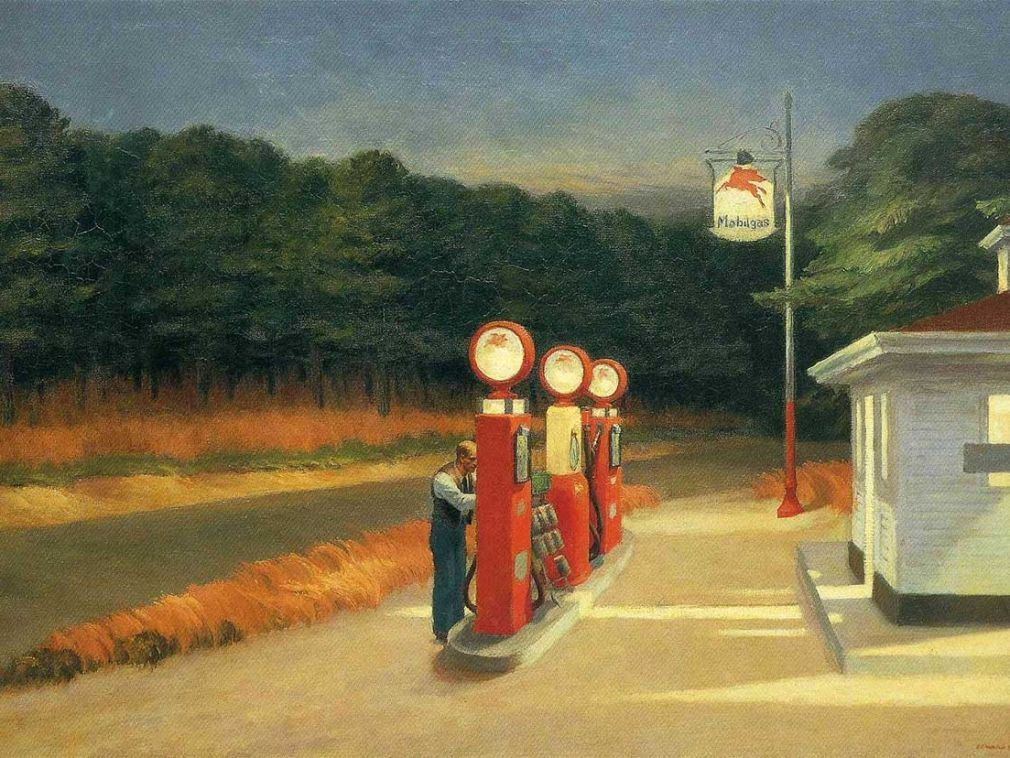 Edward Hopper. Gas station