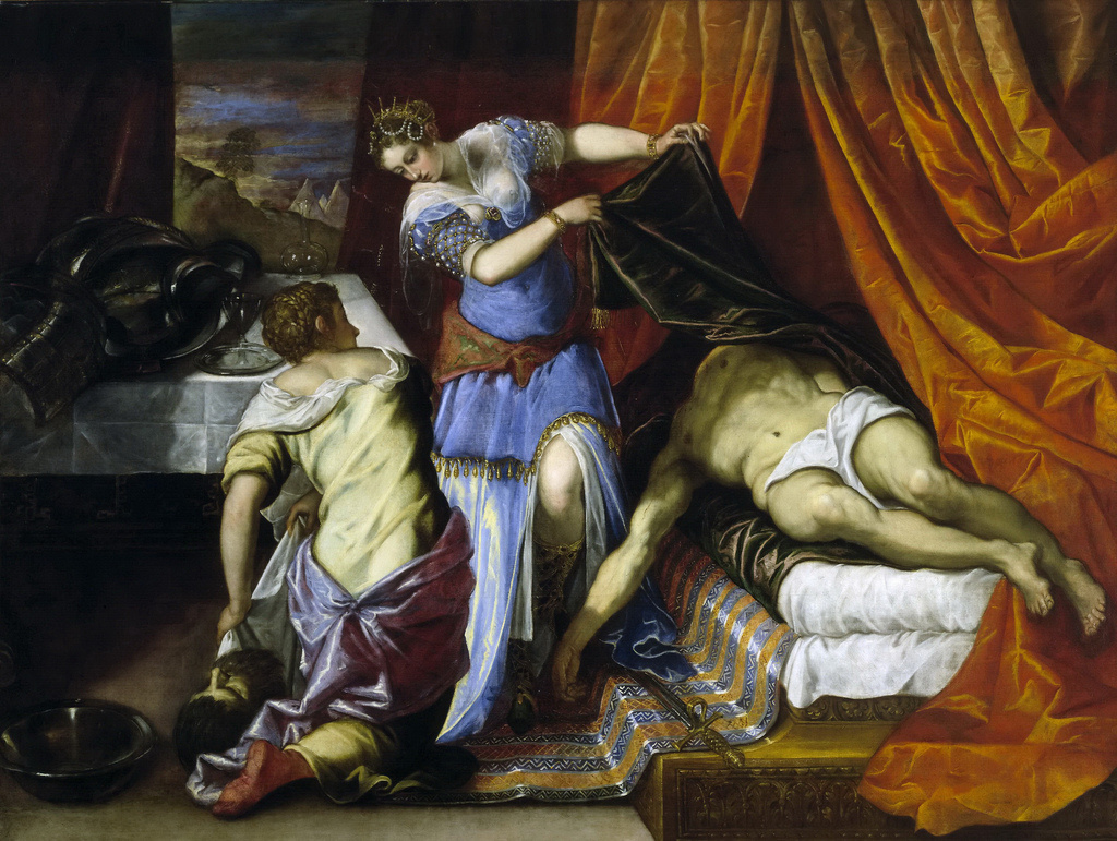 Jacopo (Robusti) Tintoretto. Judith and Holofernes