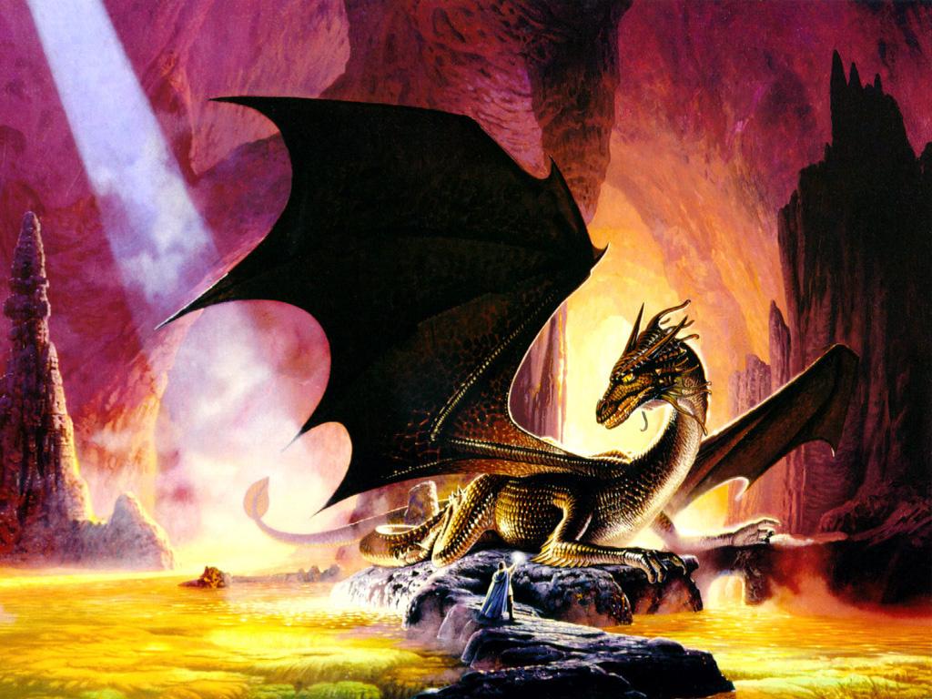 Кит Паркинсон. Нападение дракона