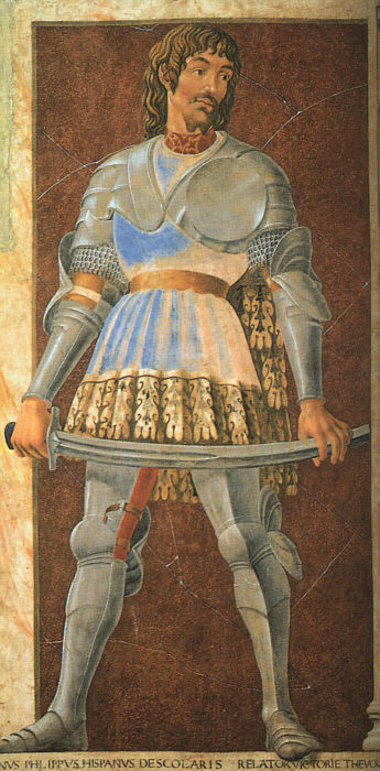Андреа дель Кастаньо. Сабля