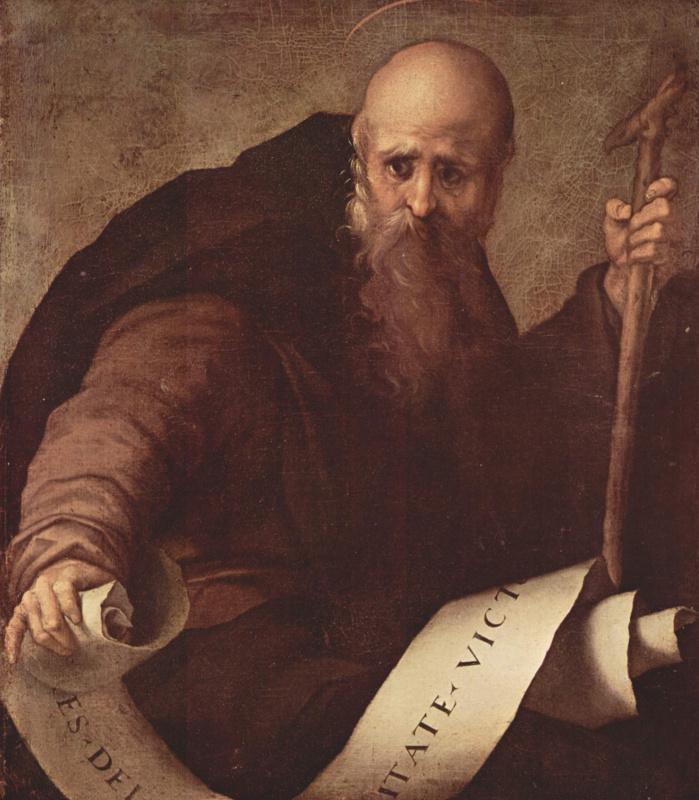 Jacopo Pontormo. Saint Anthony