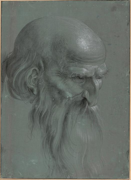 Albrecht Durer. Head of an Apostle
