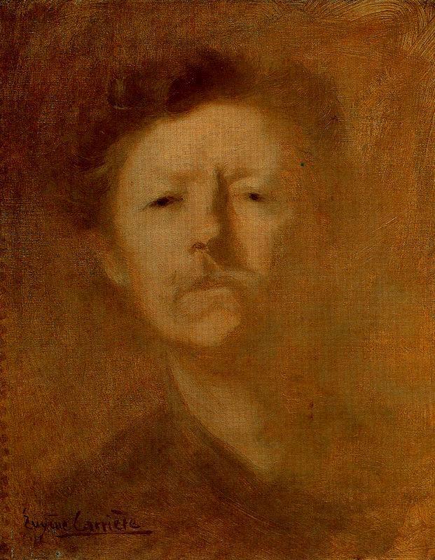 Eugene Carrier. Self-portrait