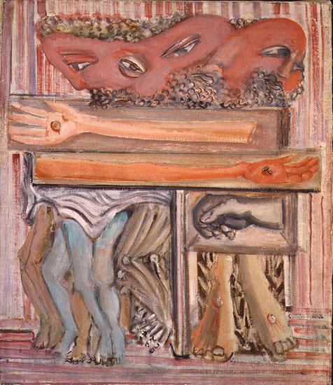 Rothko Mark. The crucifixion