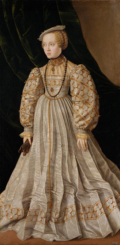 Jakob Seisenegger. Anna of Austria, Duchess of Bavaria
