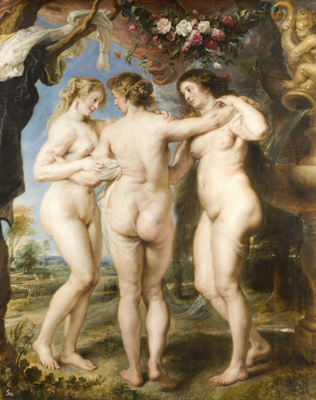 Peter Paul Rubens. Three Graces