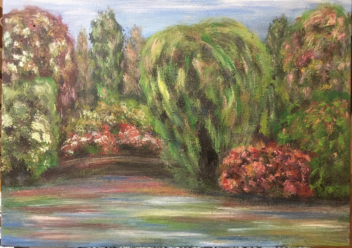 Victoria Valentinovna Zachkova. Marvelous garden