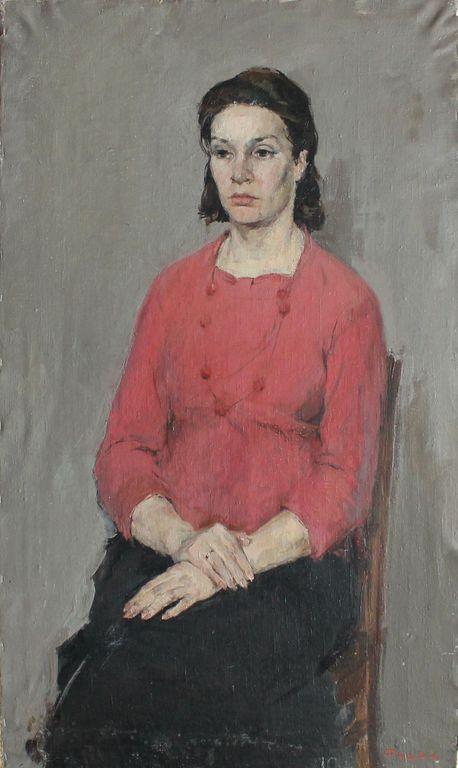 Igor Vasilyevich Fadin. Female portrait