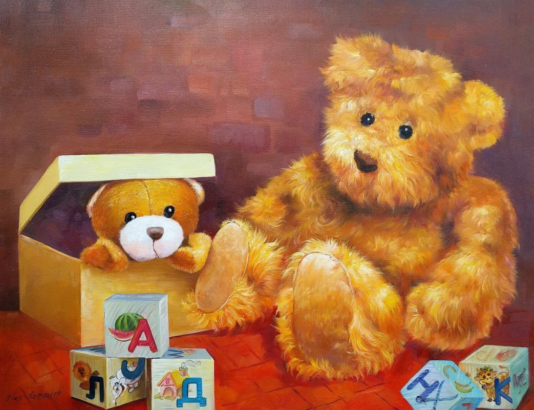 Alexander Romm. Teddy bears. Let's play?