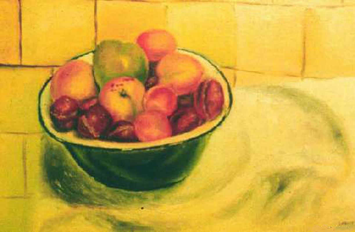 Vladimir Vasilyevich Abaimov. The Fruit in a Cup
