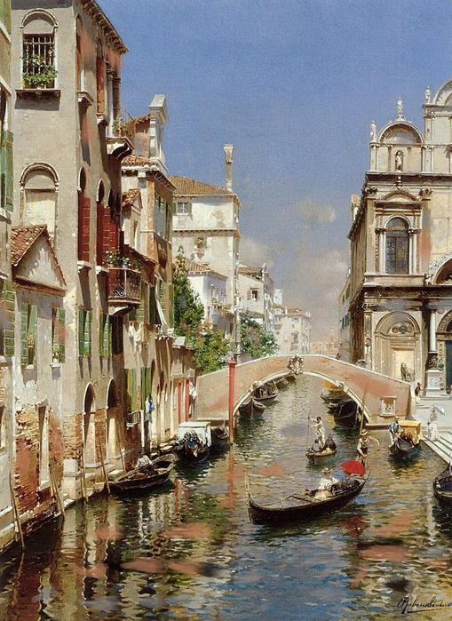 Valery victorovich shechkin. Venice