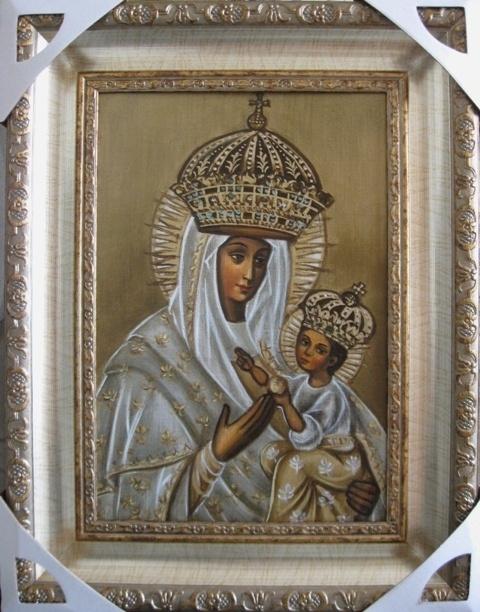 Ядвига Сенько. Будславская Б.М. - икона католическая
