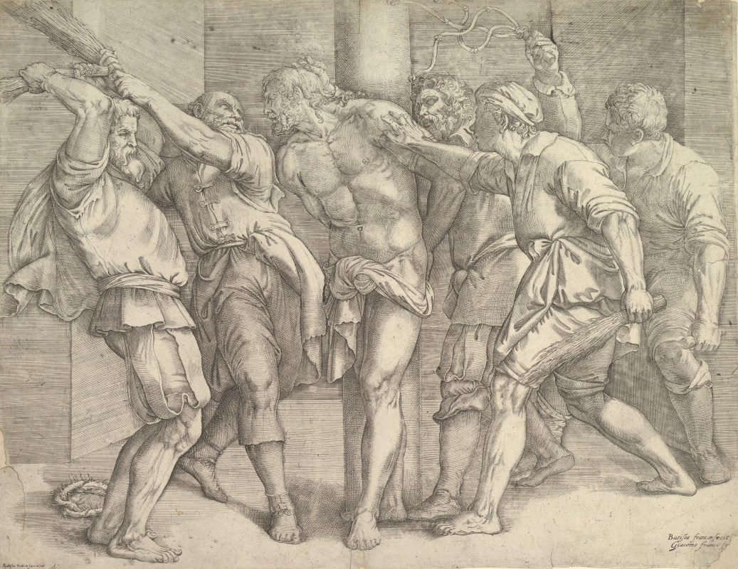 Titian Vecelli. The Flagellation