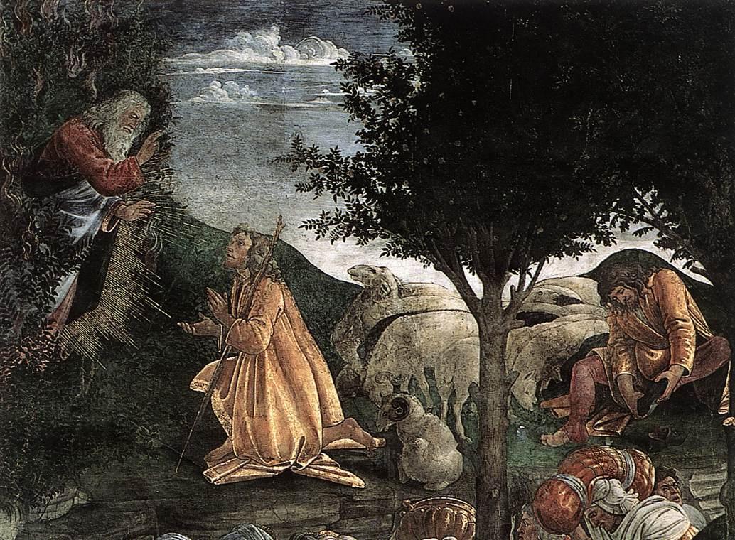 Сандро Боттичелли. Моисей