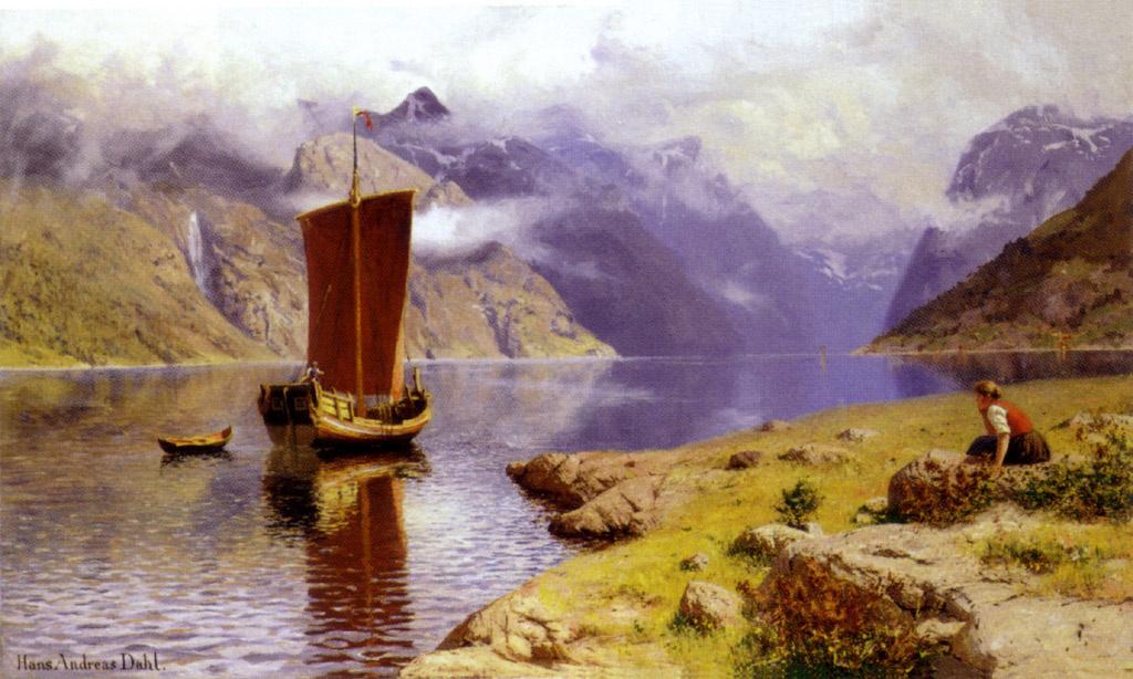 Hans Dahl. In anticipation of the return
