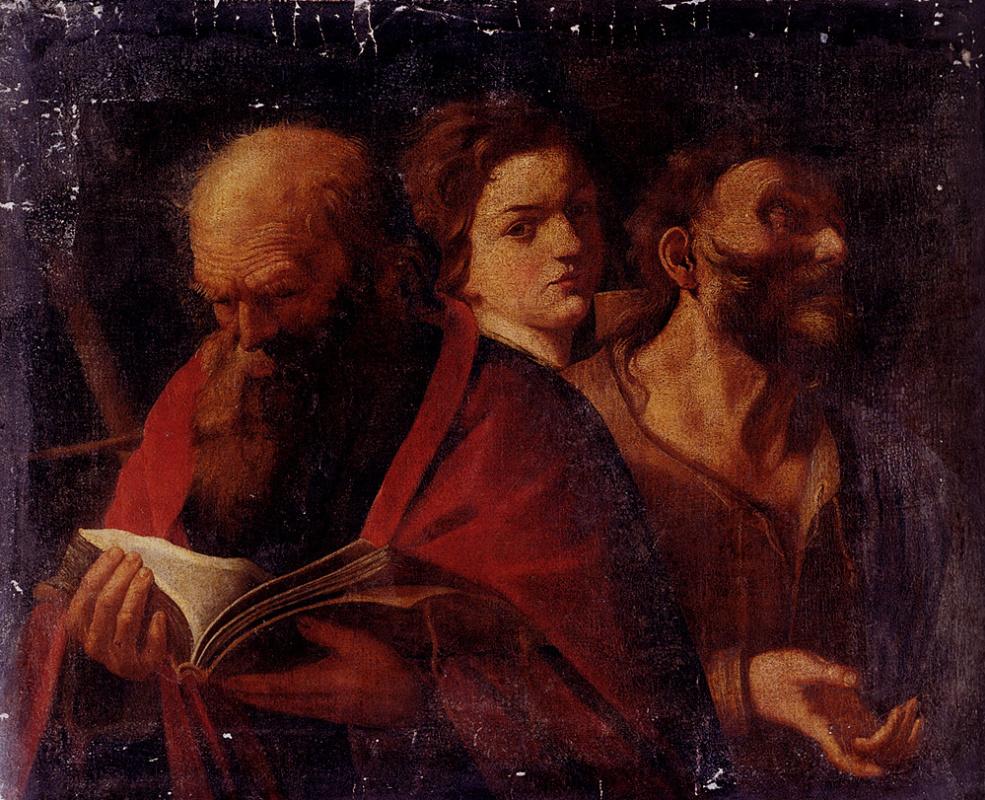Андреа Сакки. Три мужчины в возрасте