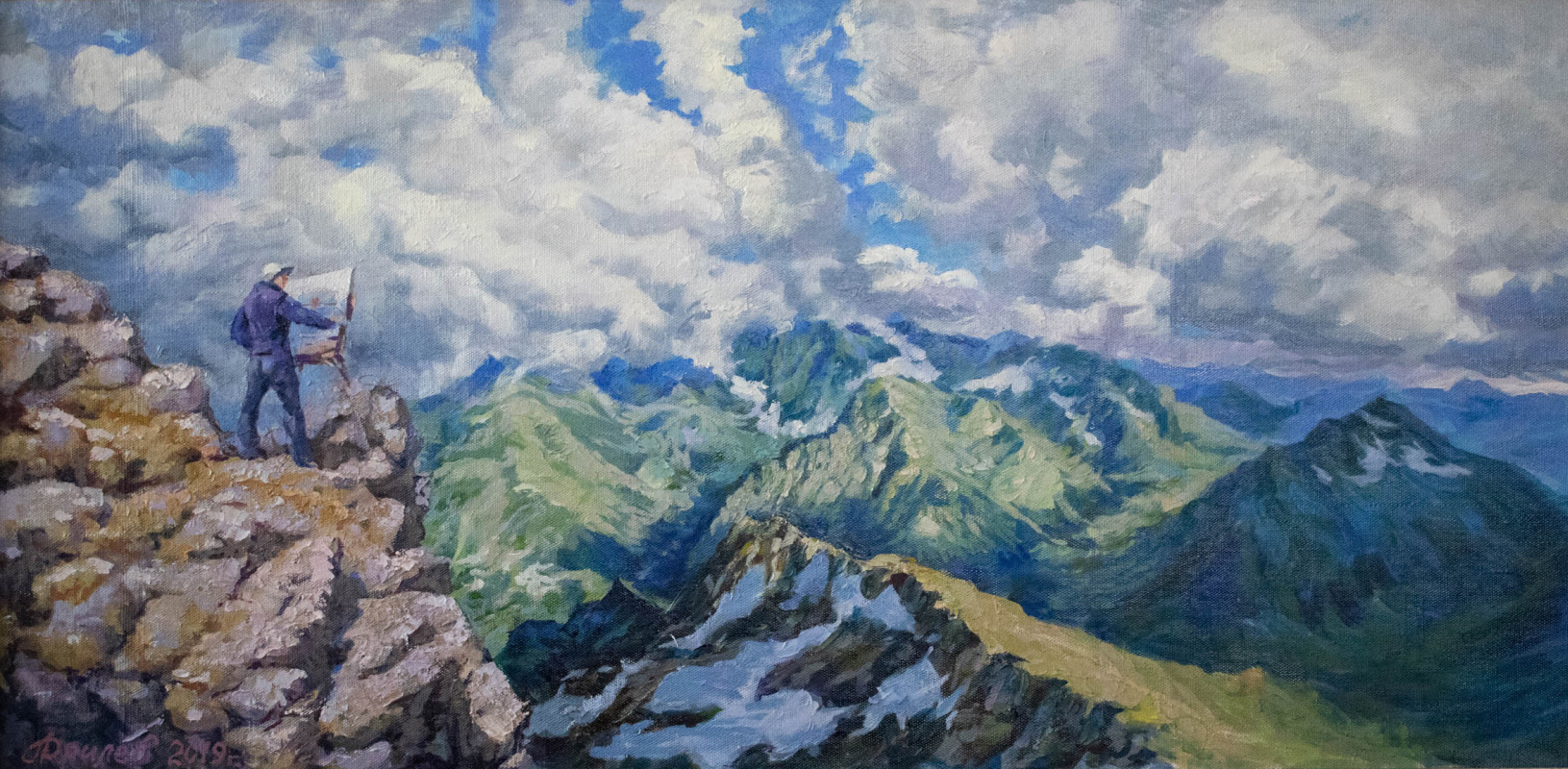 Alexey Alekseevich Drilev. Only mountains can be better than mountains