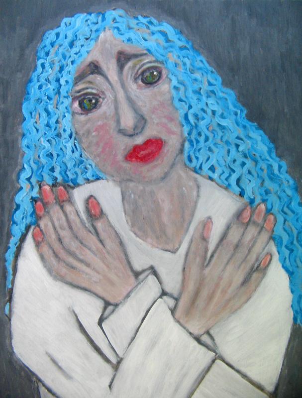 Tatyana Turanova. Pierrot in Malvina's wig