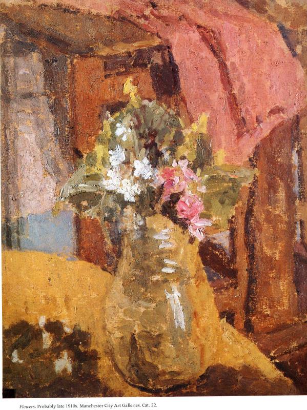 Гвен Джон. Цветы