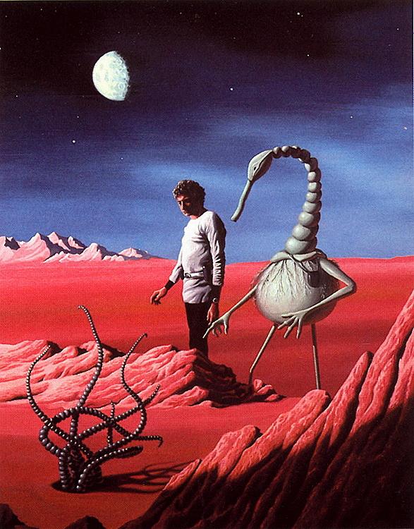 Роберт Петилло. Марс
