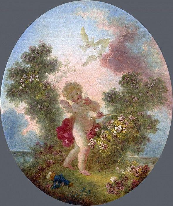 Jean-Honore Fragonard. Guardian of love