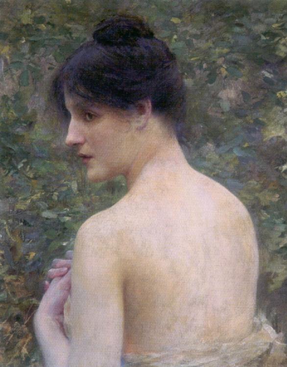 Жозеф Луи Рафаэль Коллин. Красивый портрет