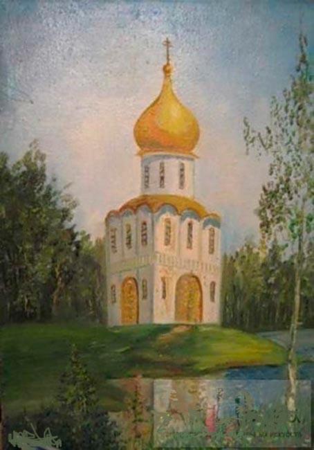 Павел Маркович Ошеров. Храм