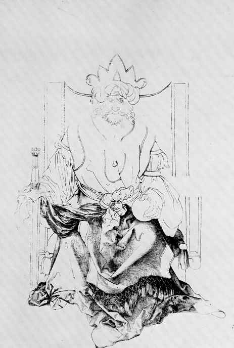 Альбрехт Дюрер. Султан на троне