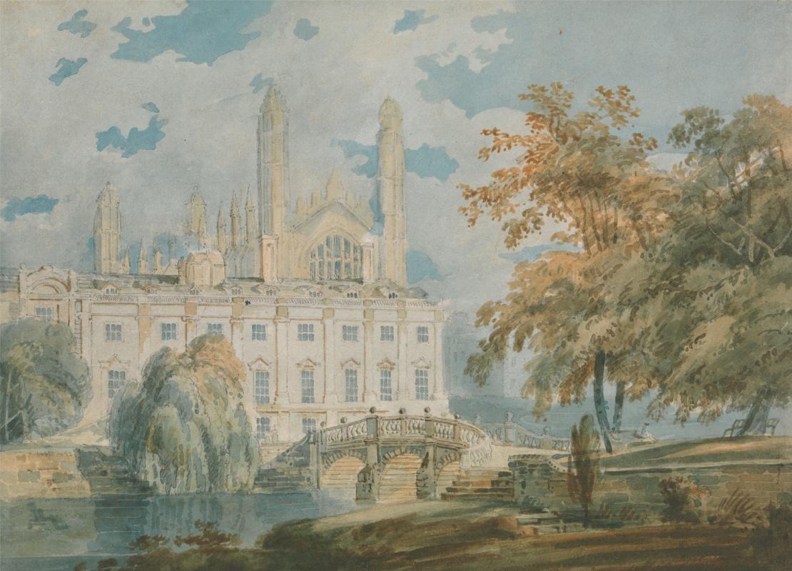 Joseph Mallord William Turner. Clare Hall, Cambridge