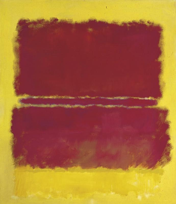 Rothko Mark.  No. 15
