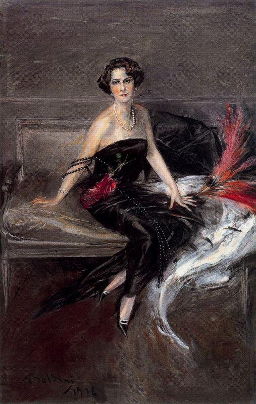 Giovanni Boldini. Portrait of the Marquise Pinar del Rio