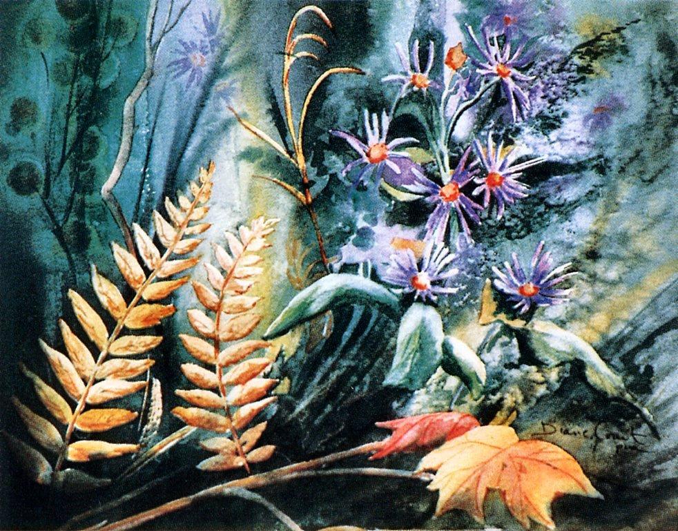 Diana Kouiet. Leaves