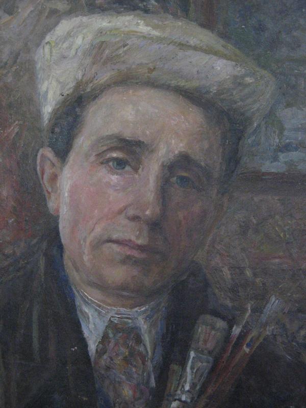Марьян Юльевич Кропивницкий. Автопортрет