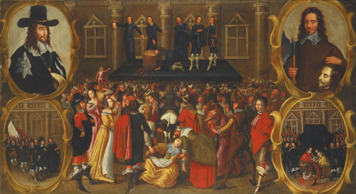 Джон Висоп. Казнь короля Англии Карла І Стюарта в 1649 году глазами очевидца