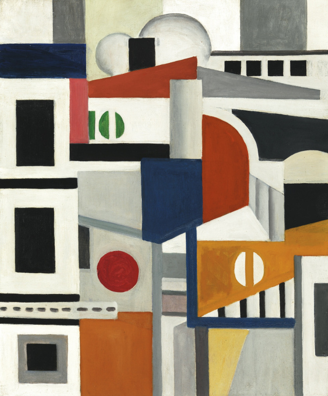 Fernand Leger. The Rooftops Of Paris