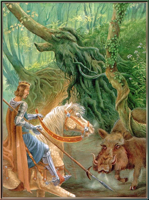 Обеты король Артур и его рыцари